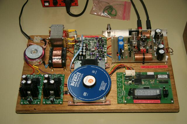 The Audio Eagle Building Tentlab S Musical Diy Cd Player