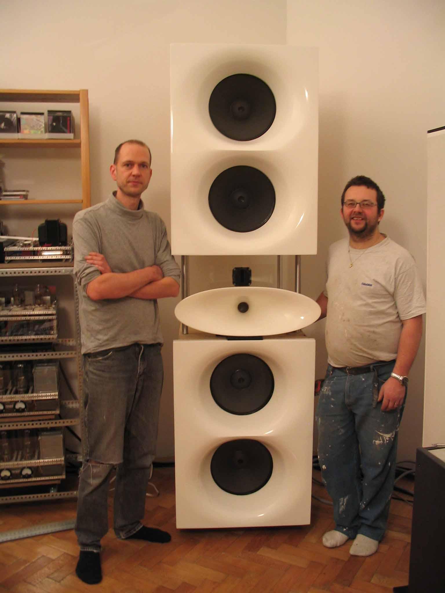 The Audio Eagle - Joe's Loudspeaker Dream Comes True